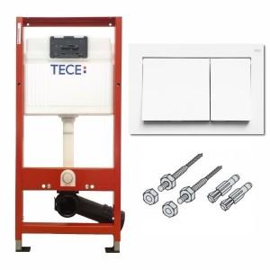 TECE inklusive TECEbase Betätigungsplatte Weiss 9400000