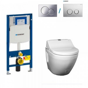 TOTO NC GEBERIT dusch WC aufsatz komplett maro di600