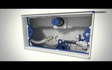 DUSCH WC Geberit AquaClean Sela water connection 5 cm Installation