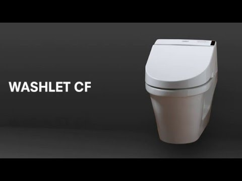 TOTO Washlet CF Montage video