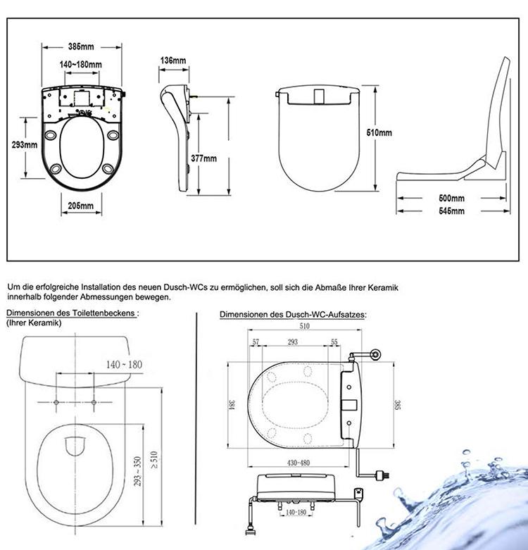 DI600 DUSCH WC zeichnungen SMALL