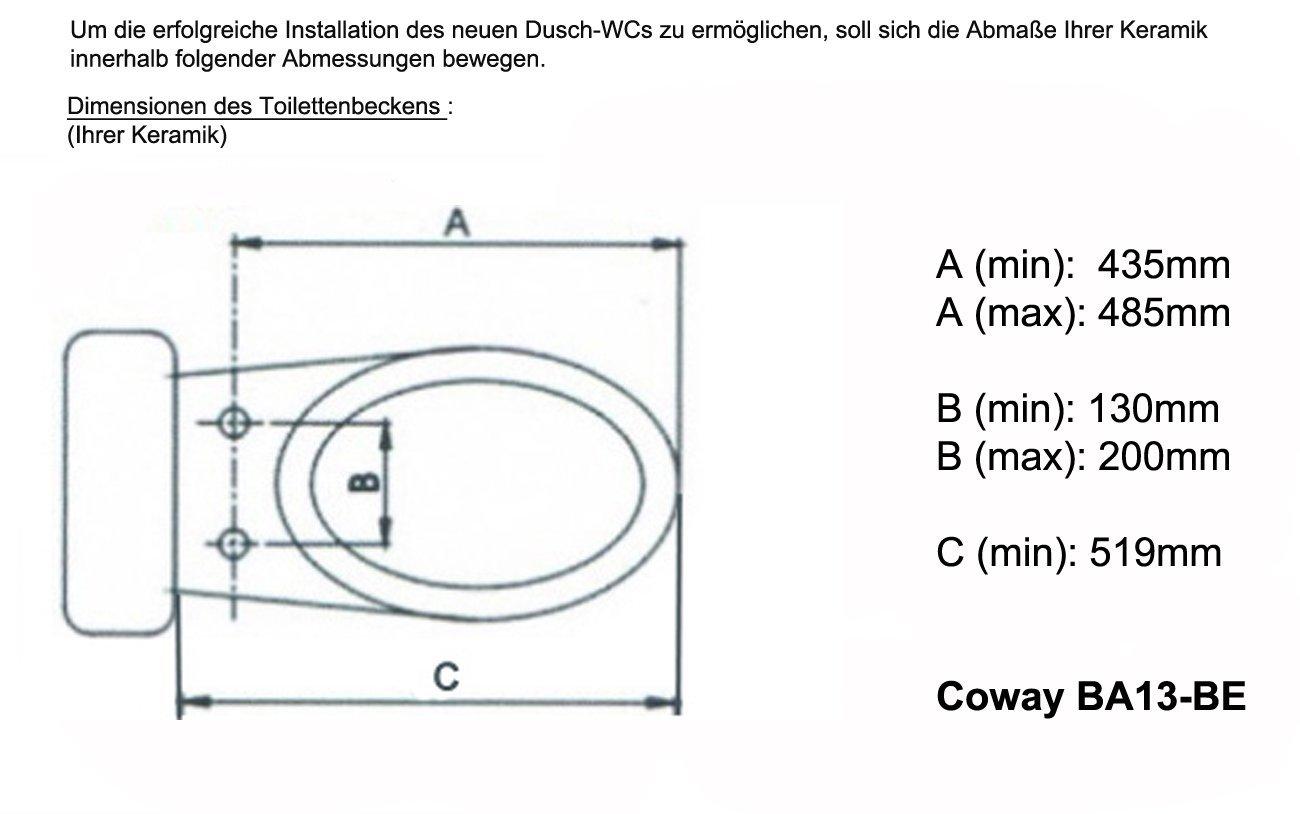 Coway BA13 Dusch WC