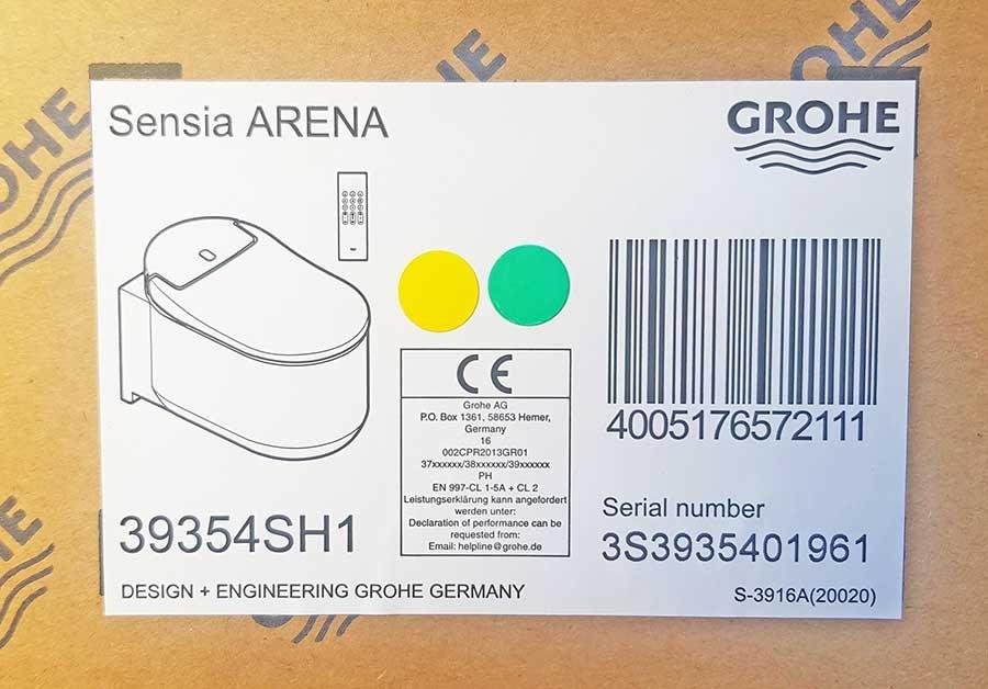 Grohe Sensia Arena neues modell